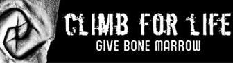 Progetto di donazione midollo osseo Climb for Life