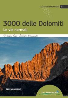 Copertina libro 3000 delle Dolomiti